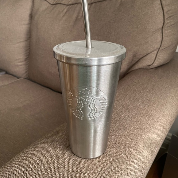 Starbucks Stainless Steel Tumbler Cup with Straw